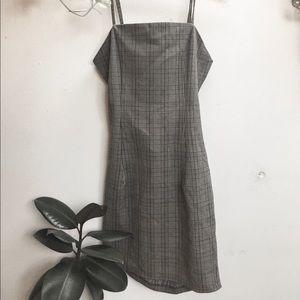 Plaid mini dress